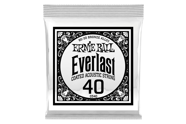 Ernie Ball - 0340 Everlast Coated 80/20 Bronze .040