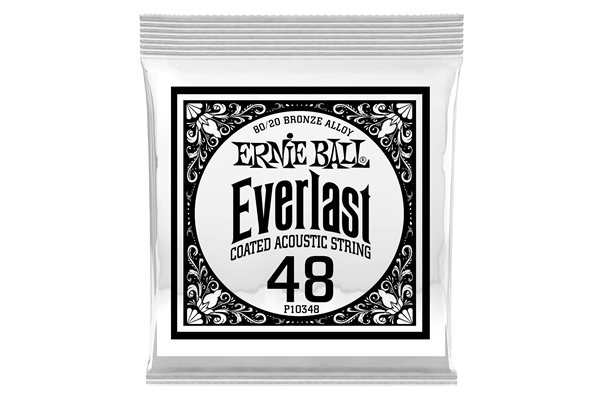 Ernie Ball - 0348 Everlast Coated 80/20 Bronze .048