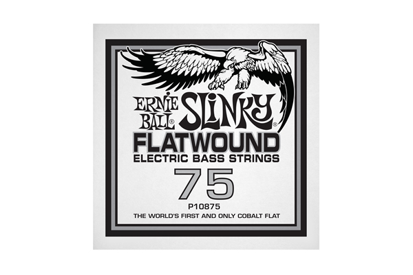 Ernie Ball - 0875 Cobalt Flatwound Bass .075