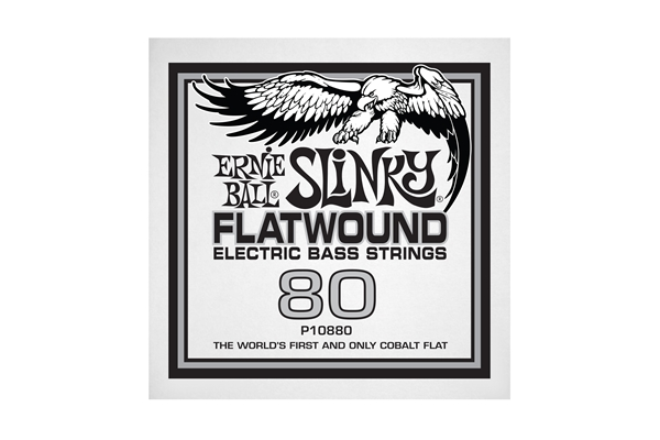 Ernie Ball - 0880 Cobalt Flatwound Bass .080