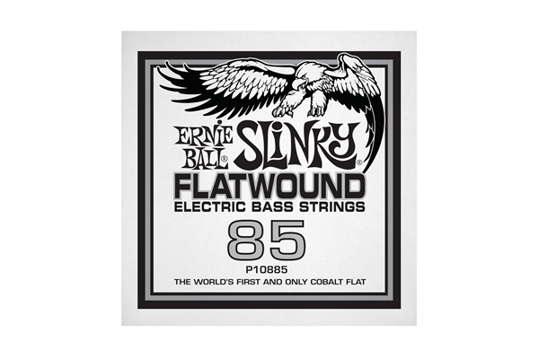 Ernie Ball - 0885 Cobalt Flatwound Bass .085