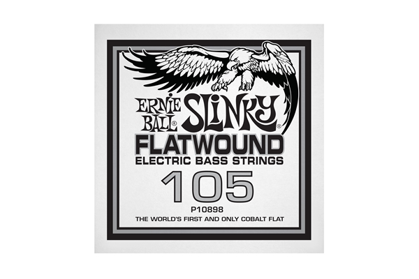 Ernie Ball - 0898 Cobalt Flatwound Bass .105
