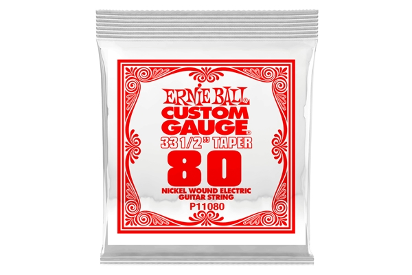 Ernie Ball - 1080 Nickel Wound Scala Lunga .080
