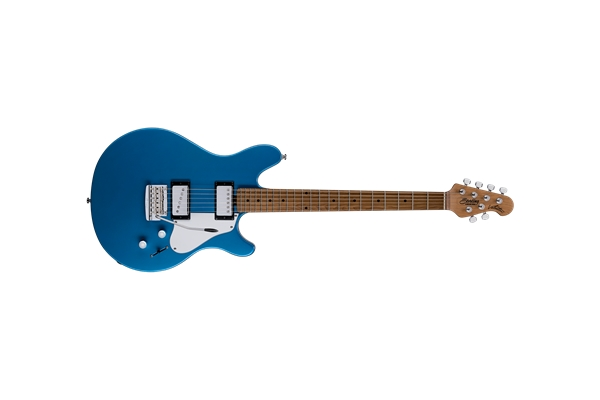 Sterling by Music Man - Valentine Tremolo Toluca Lake Blue