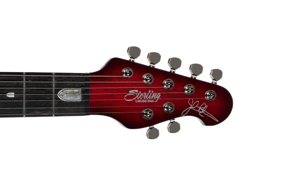 Sterling by Music Man - Majesty DiMarzio 7 Corde Royal Red