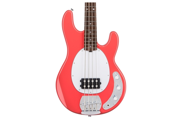 Sterling by Music Man - Stingray Ray4 Basso 4 Corde Fiesta Red
