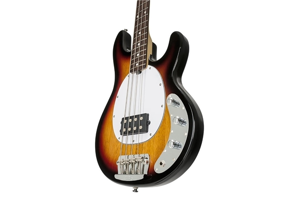 Sterling by Music Man - Stingray Classic Ray24CA Basso 4 Corde 3-Tone Sunburst