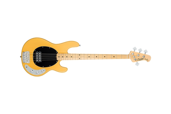 Sterling by Music Man - Stingray Classic Ray24CA Basso 4 Corde Butterscotch