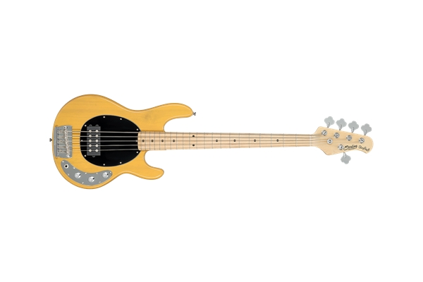 Sterling by Music Man - Stingray Classic Ray25CA Basso 5 Corde Butterscotch