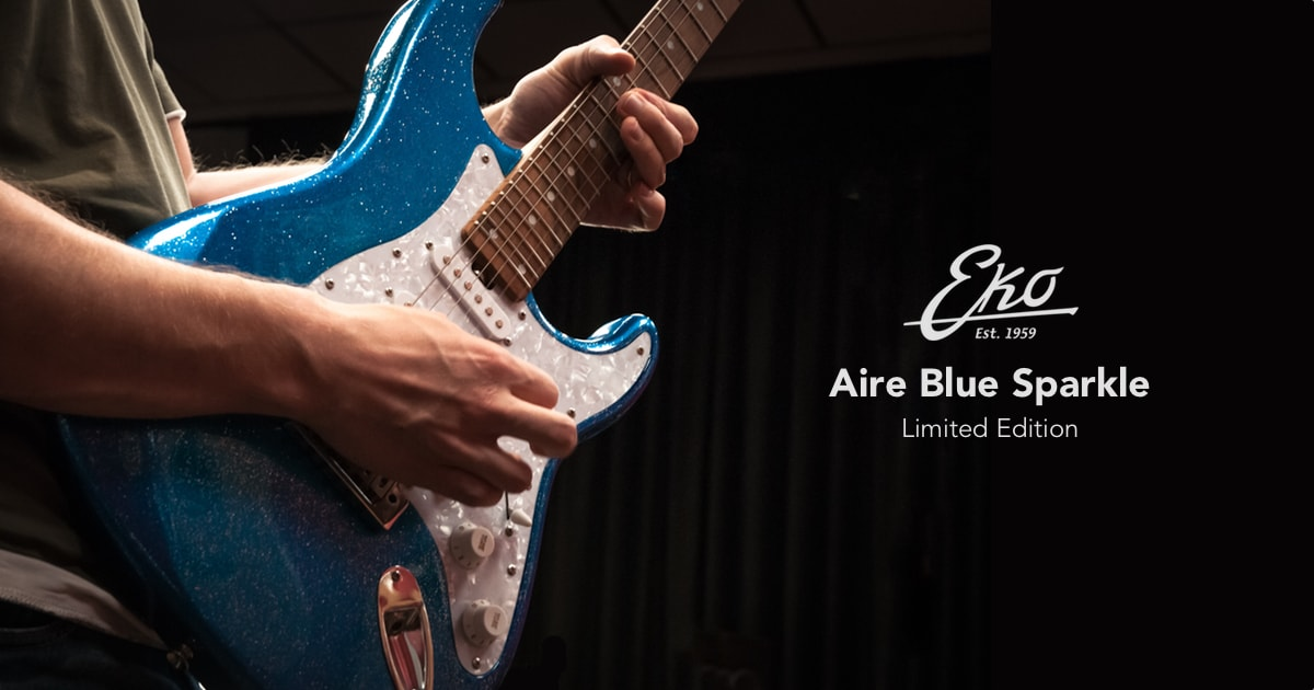Eko Aire Blue Sparkle Limited Edition