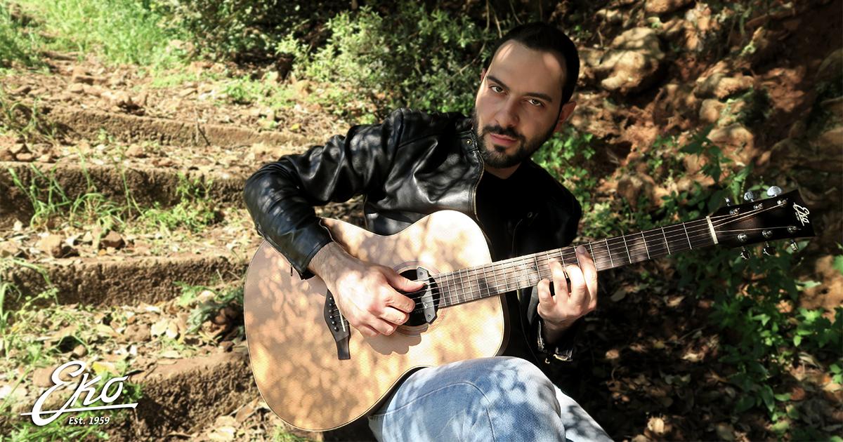Davide-Ciura-endorser-Eko-Guitars