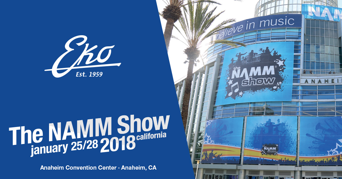 eko-guitars-namm-2018
