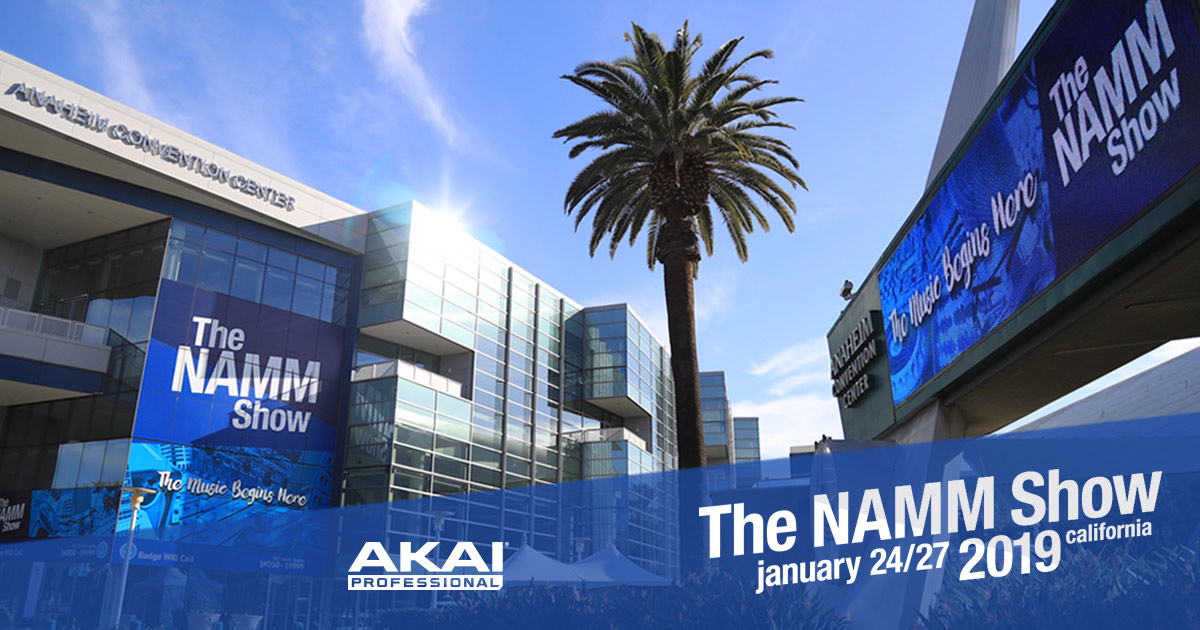 the-namm-show-2019-akai-professional