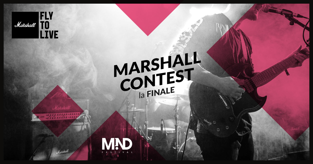 Fly To Live: Il Marshall Contest di Eko Music Group