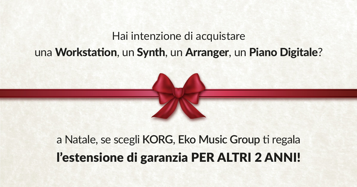 La Eko Music Group ti regala la garanzia