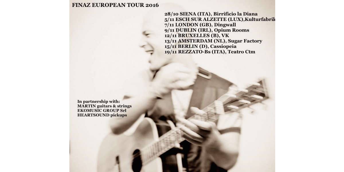 Finaz European Tour 2016