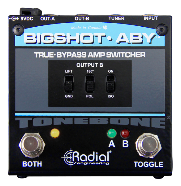 Radial tonebone Big Shot ABY