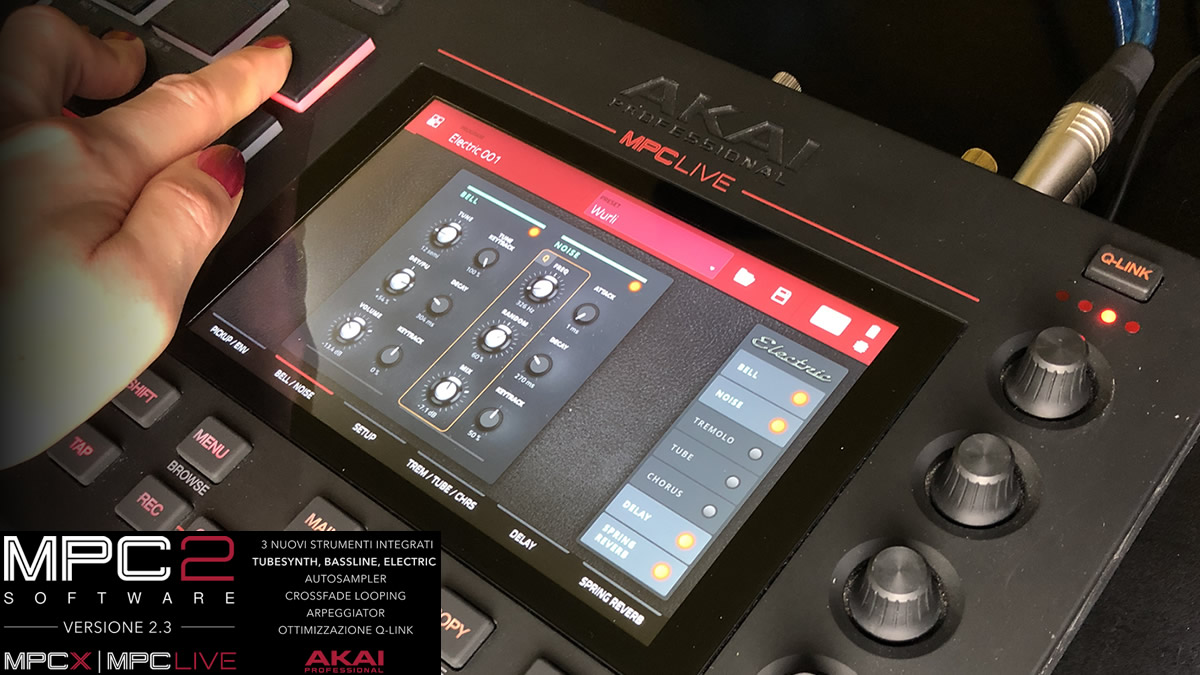MPC FIRMWARE E SOFTWARE UPDATE 2.3 BY AKAI PROFESSIONAL