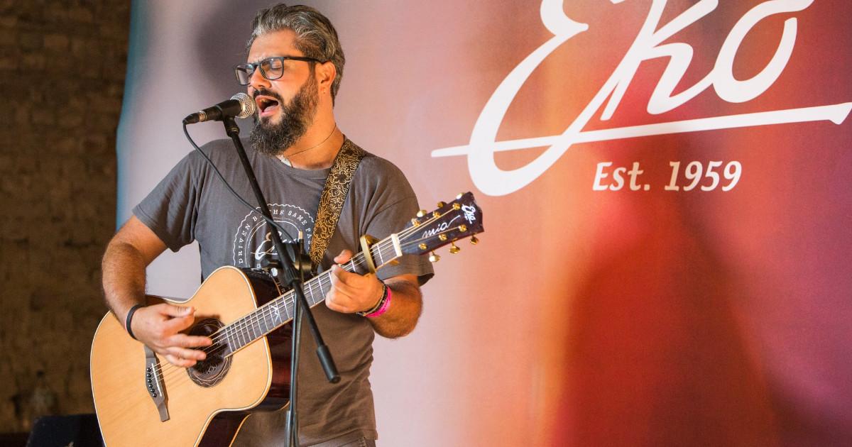 Massimiliano Bonfrisco è un endorser per Eko Guitars