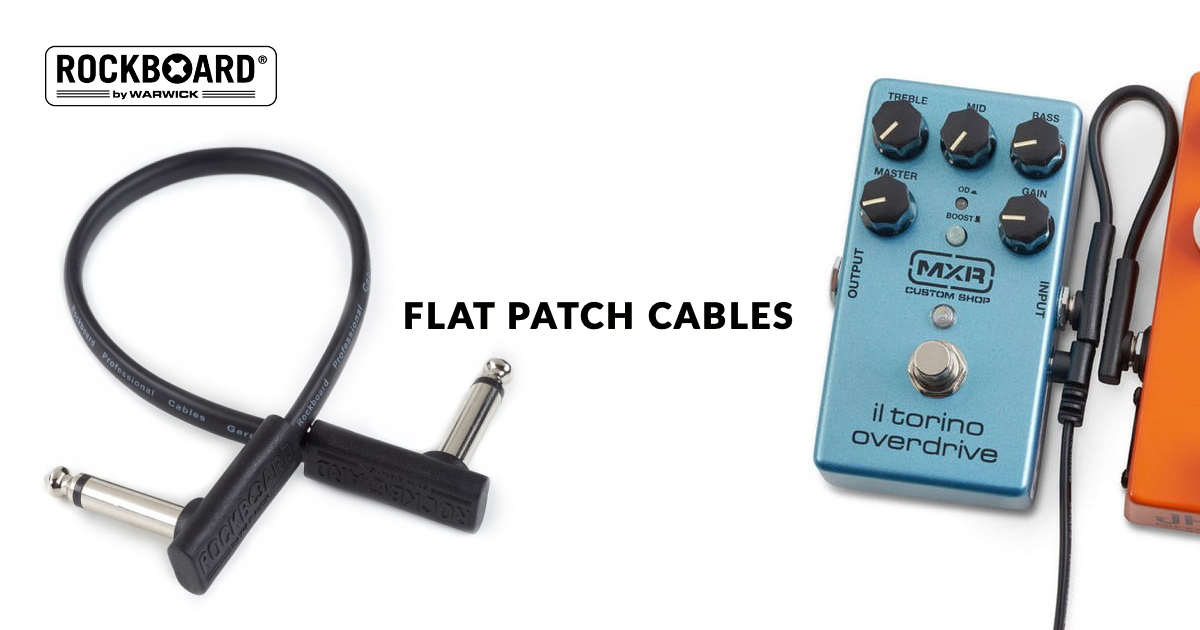 Rockboard Flat Patch Cables