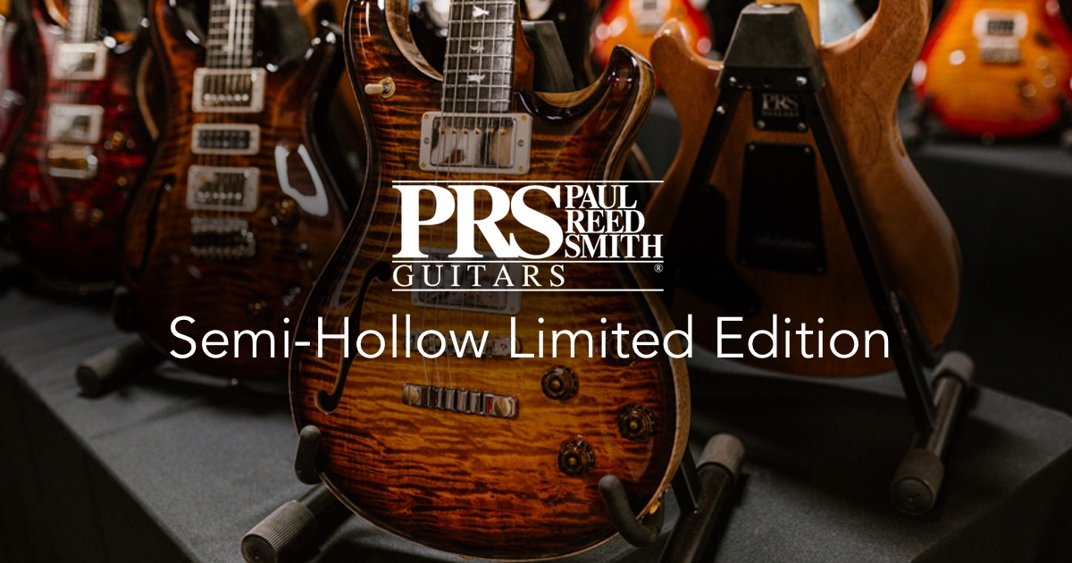 PRS: Semi-Hollow Limited Edition 2018