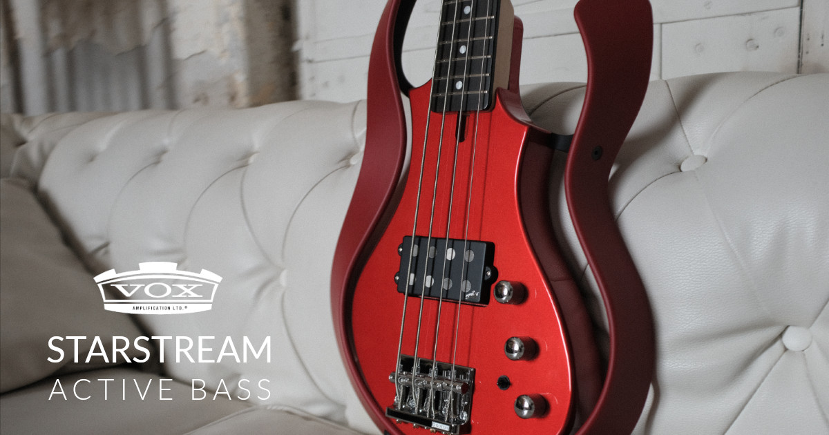 VOX: I bassi elettrici Starstream Active Bass