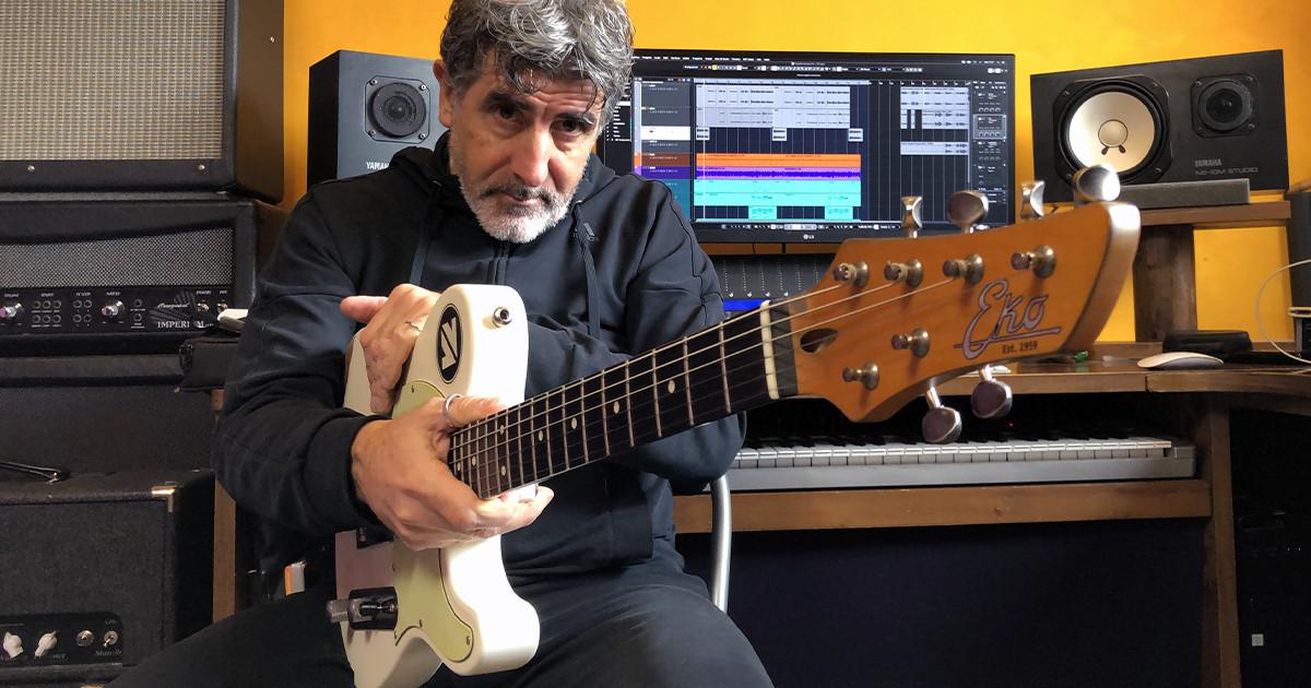 Valter Vincenti è un endorser per Eko Guitars