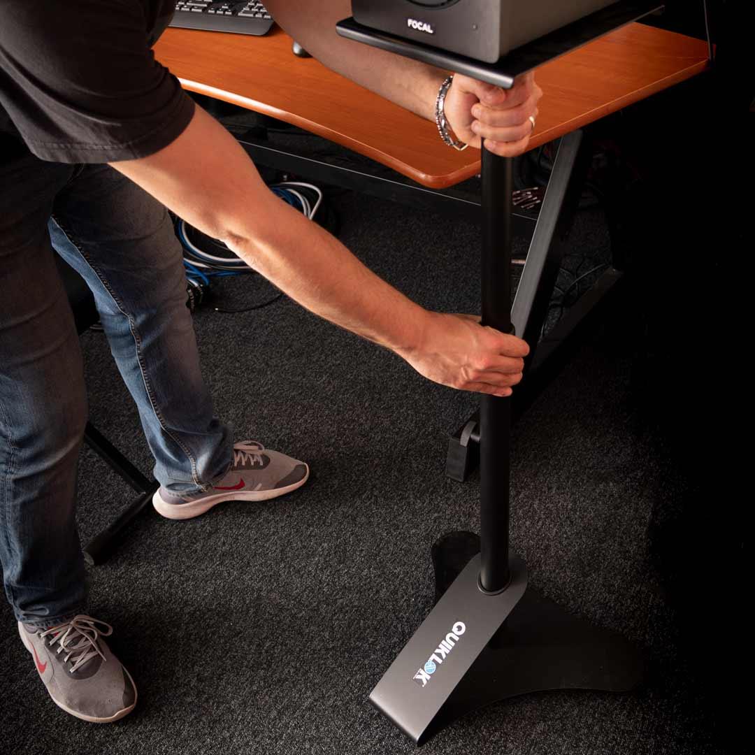 supporto casse quik lok BS402 regolabile in altezza