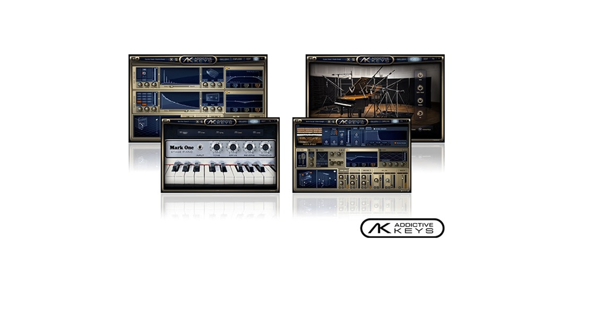 focusrite-Addictive Keys