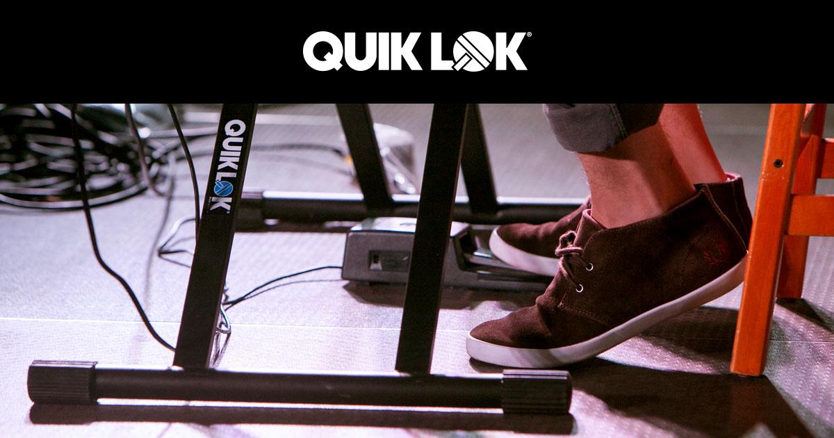 Quiklok stand i supporti più amati dai musicisti