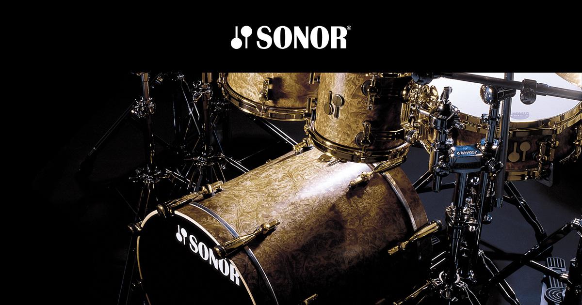 Sonor il mondo dei batteristi