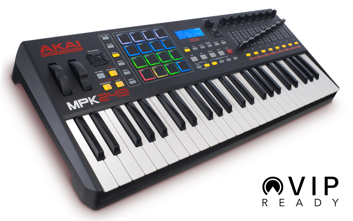 AKAI PRO MPK249 SUPPORTATA DA VIRTUAL INSTRUMENT PLAYER VIP 3.0