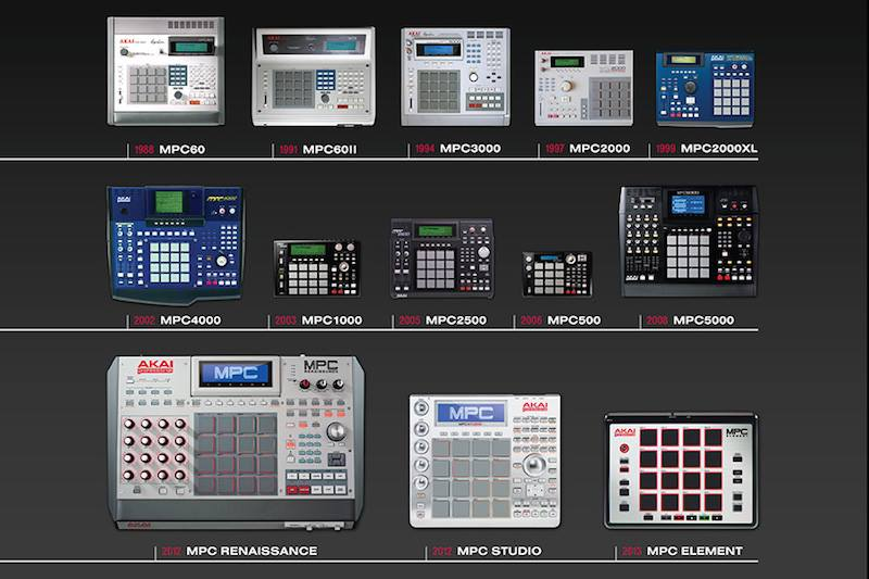 La Storia della serie MPC by AKAI Professional, marchio distribuito in Italia dalla Eko Music Group