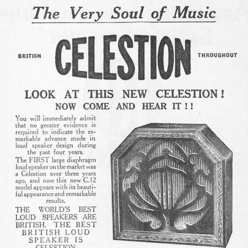 Celestion Speaker dal 1924