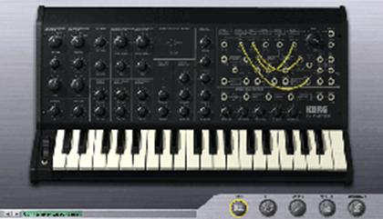 Korg MS20 virtual instrument