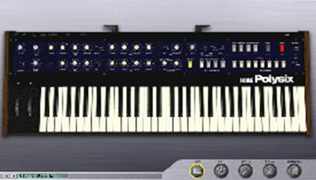 Korg Polysix plug-in virtual instrument