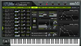 Korg M1 Virtual Instrument VST, AU e RTAS