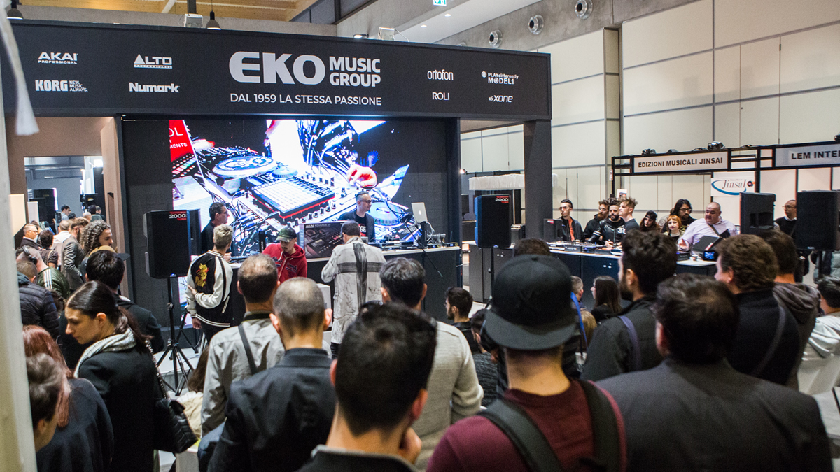 EKO Music Group, Montarbo e Quik Lok al Music Inside RIMINI - MIR 2019