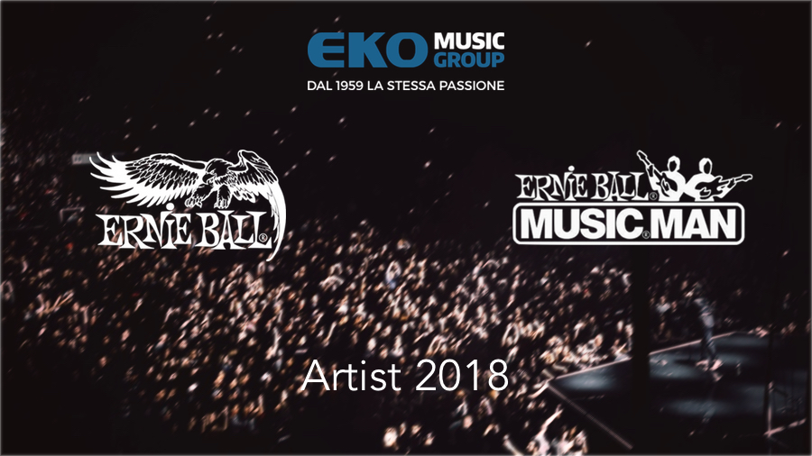 Eko Music Group, Ernie Ball Music Man artist 2018