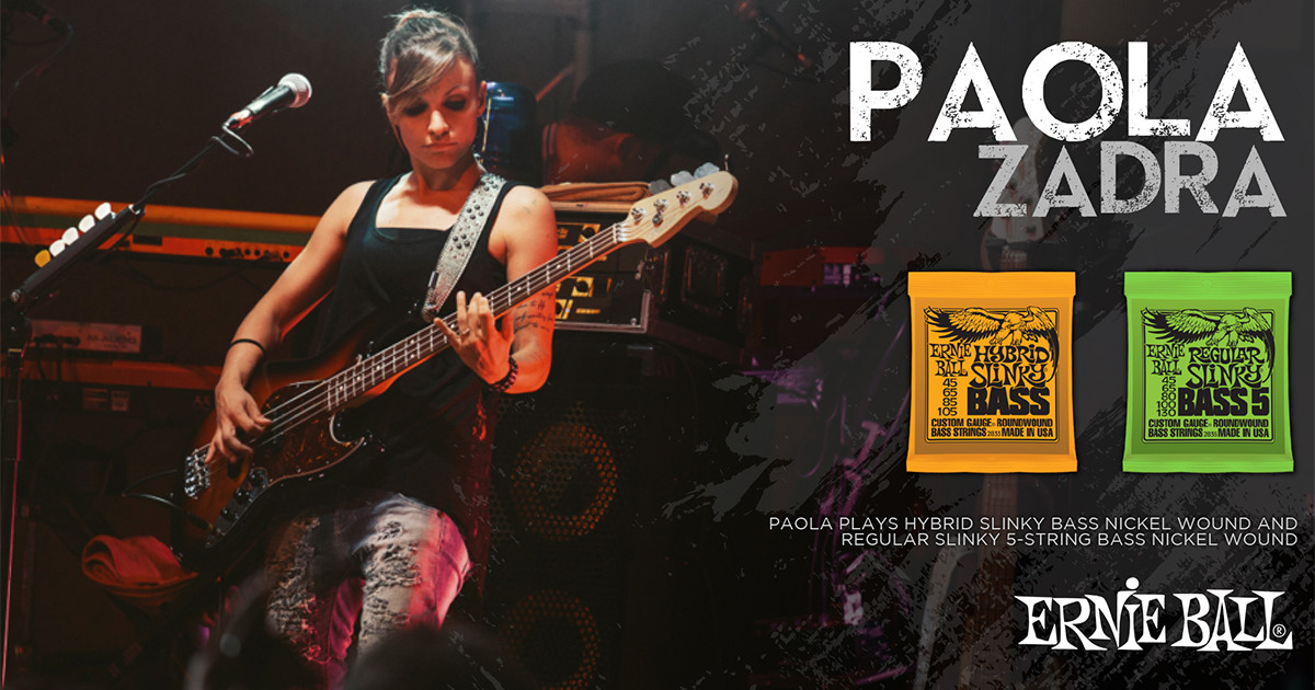 Paola-Zadra-endorser-Ernie Ball