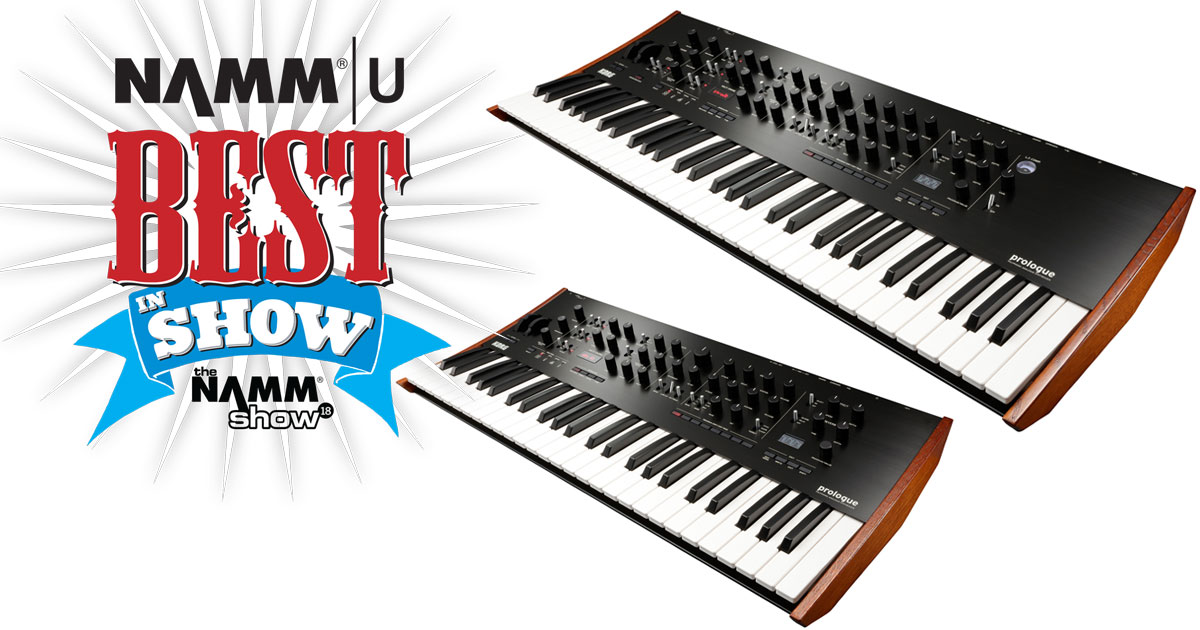 prologue_korg_namm_best_product