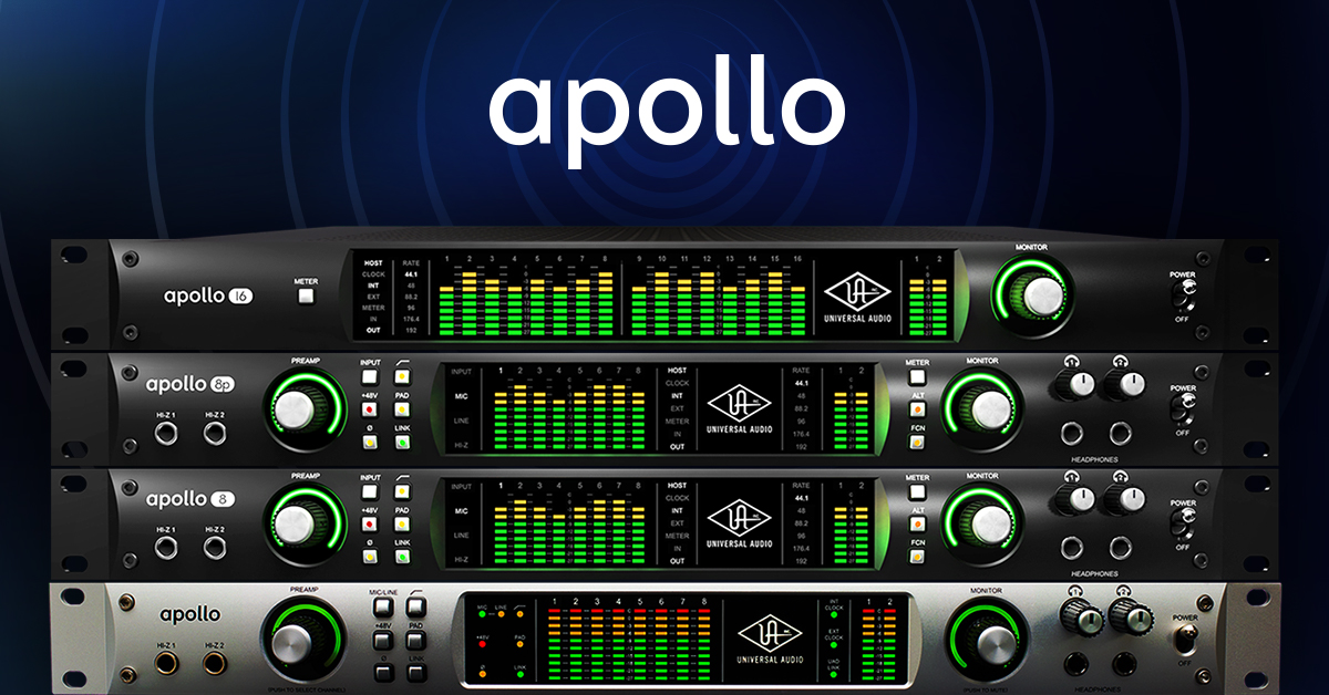 Universal Audio Apollo Summer promotion!!