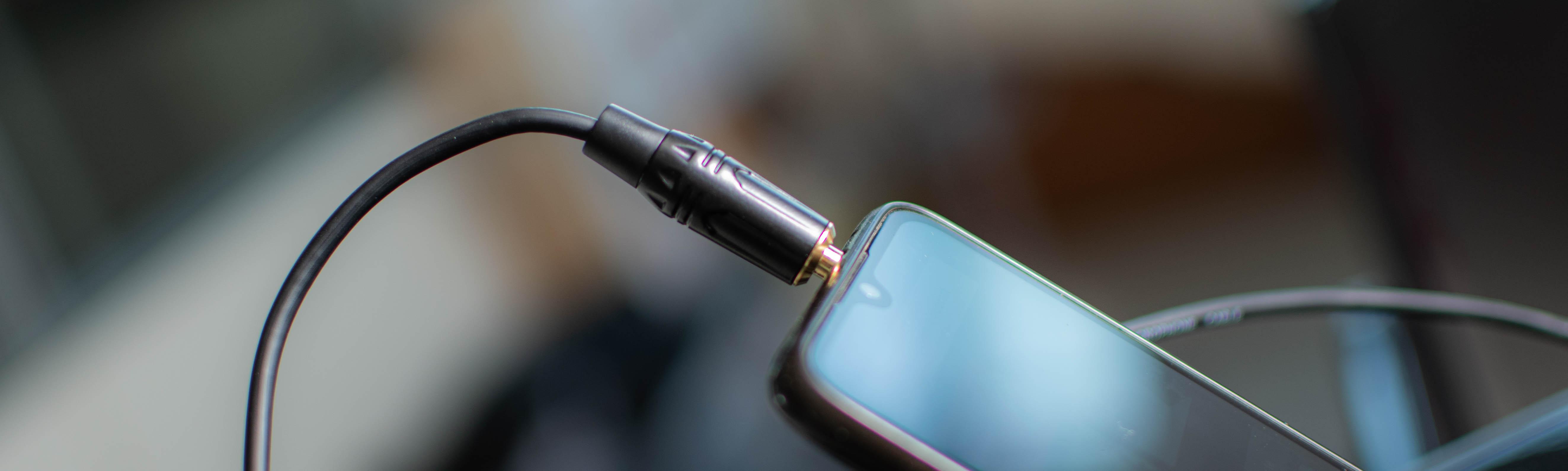 cavo quik lok just mini jack stereo per uscita cuffie telefono cellulare