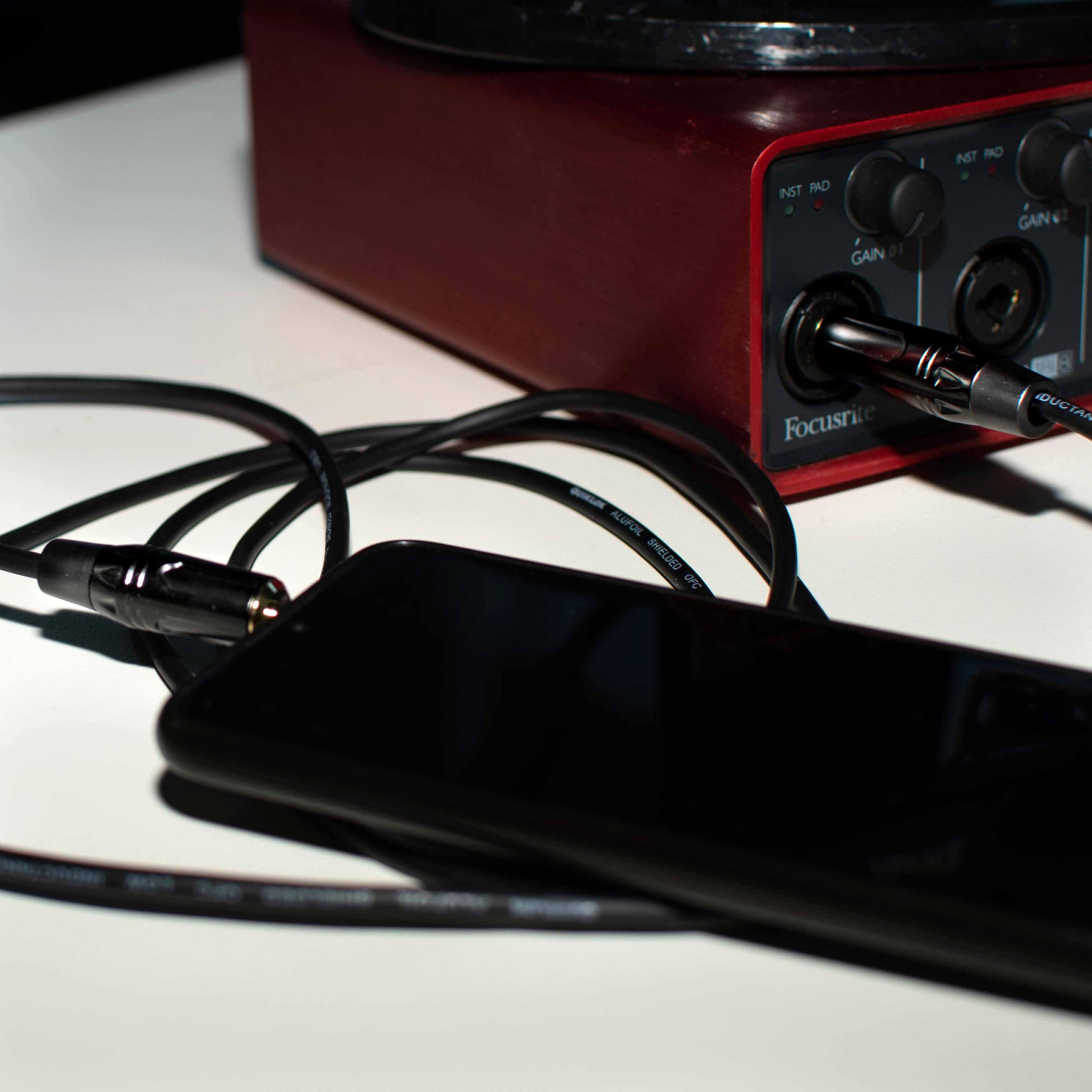 cavo quik lok just RCA per casse Alesis