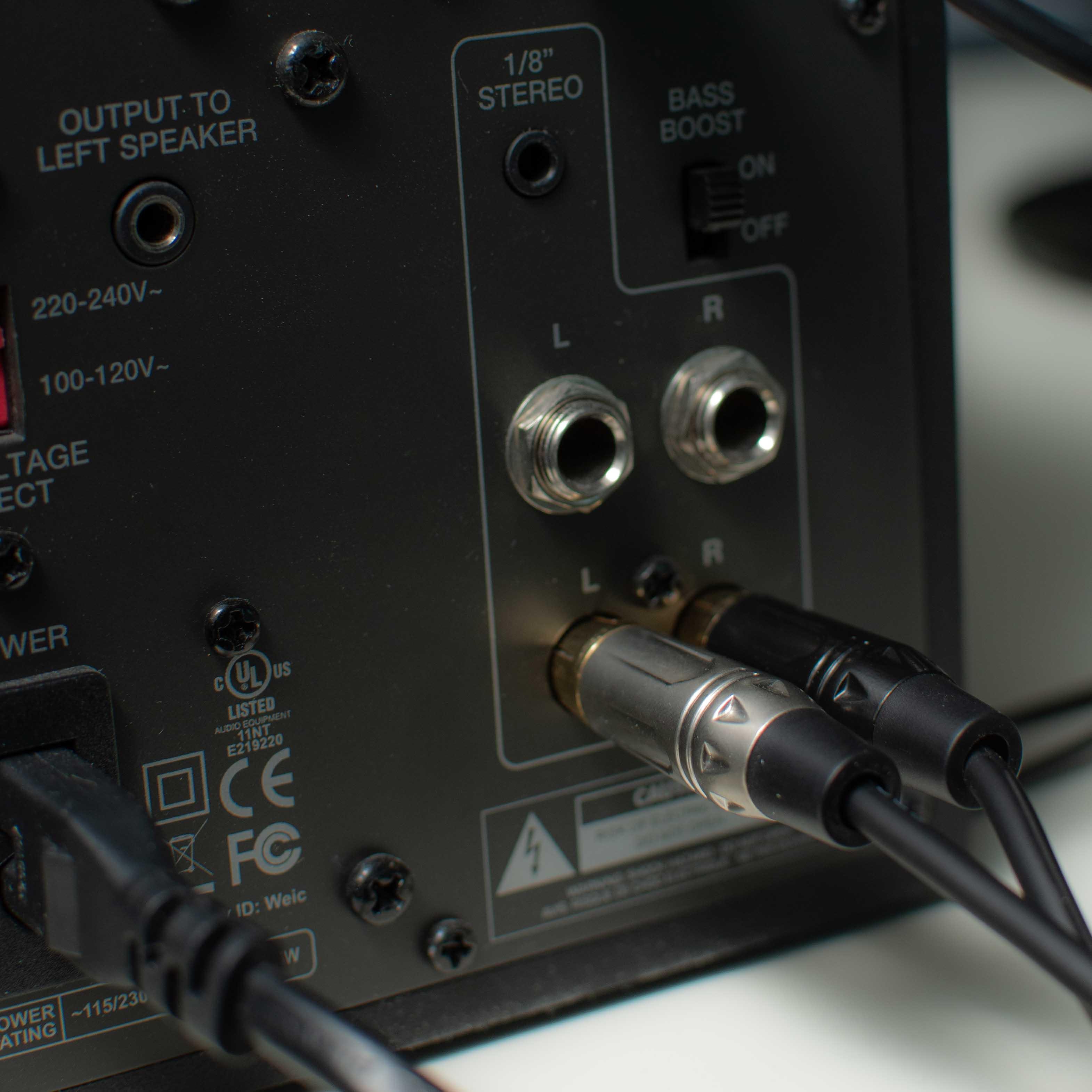 cavo quik lok just scheda audio focusrite scarlett