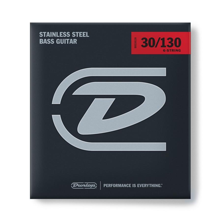 Dunlop DBS30130 Stainless Steel, Medium Set/6