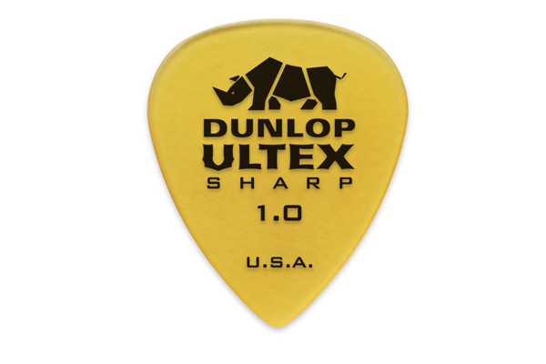 Dunlop 433R1.0 Ultex Sharp 1.0mm - Chitarre Accessori - Plettri
