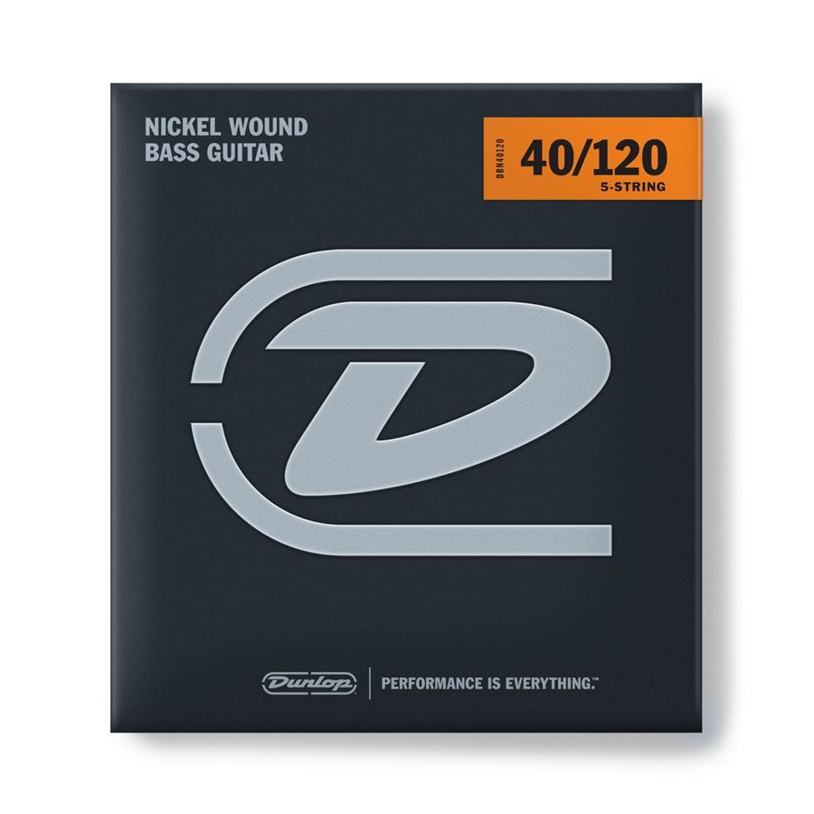 Dunlop DBS40120 Stainless Steel, Light Set/5