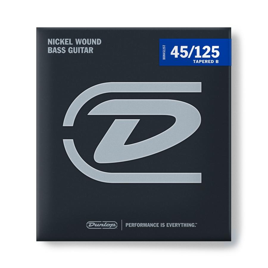 Dunlop DBN45125T Nickel Wound Tapered, Medium Set/5