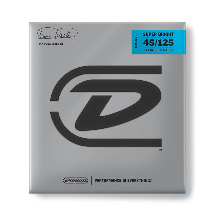 Dunlop DBMMS45125 Marcus Miller Super Bright, Medium Set/5